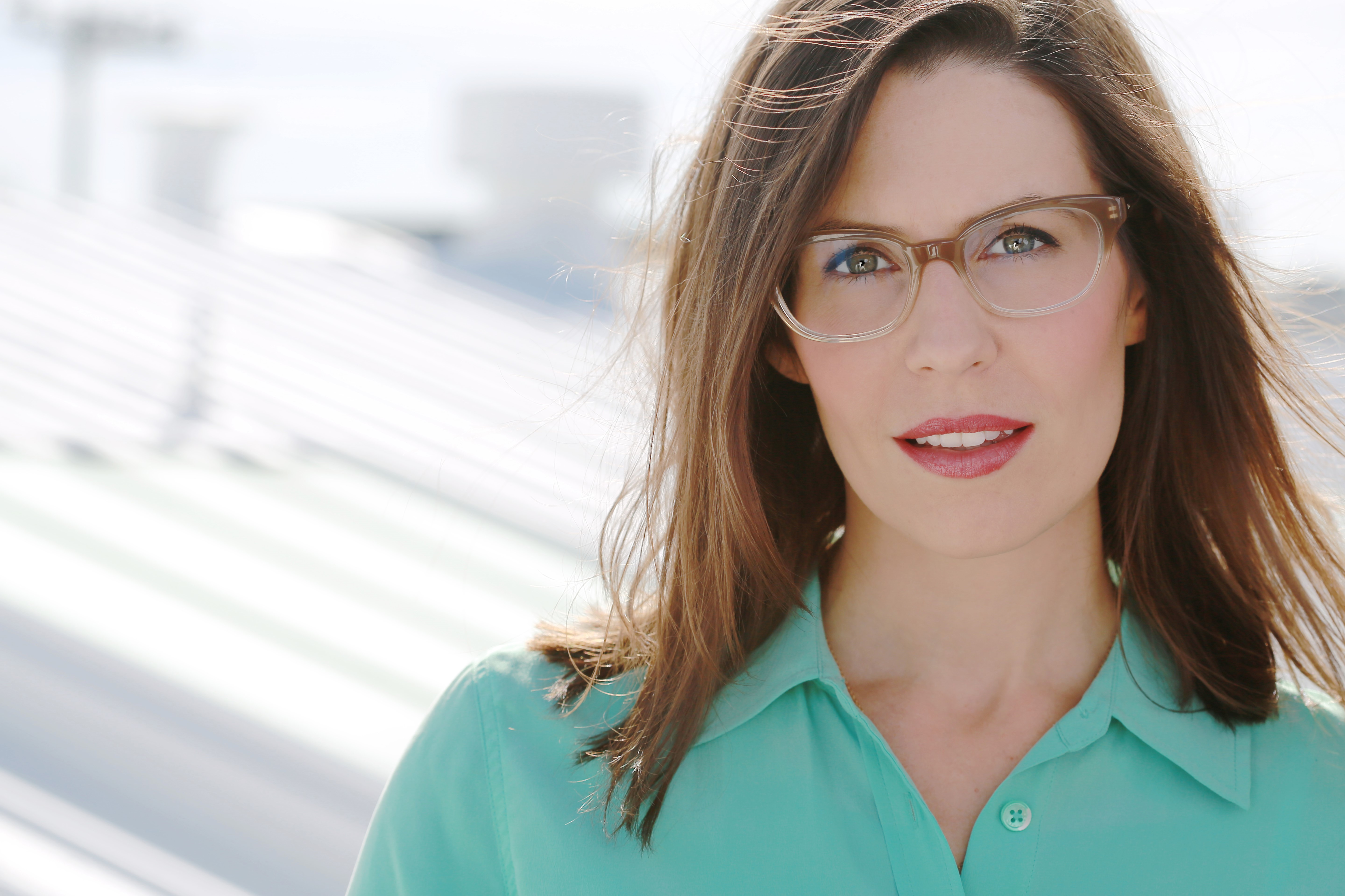 Playwright Lauren Gunderson is known for her witty plays about women and history; 'The Revolutionists' is a hot take on both. (Photo: courtesy of the artist and City Theatre)