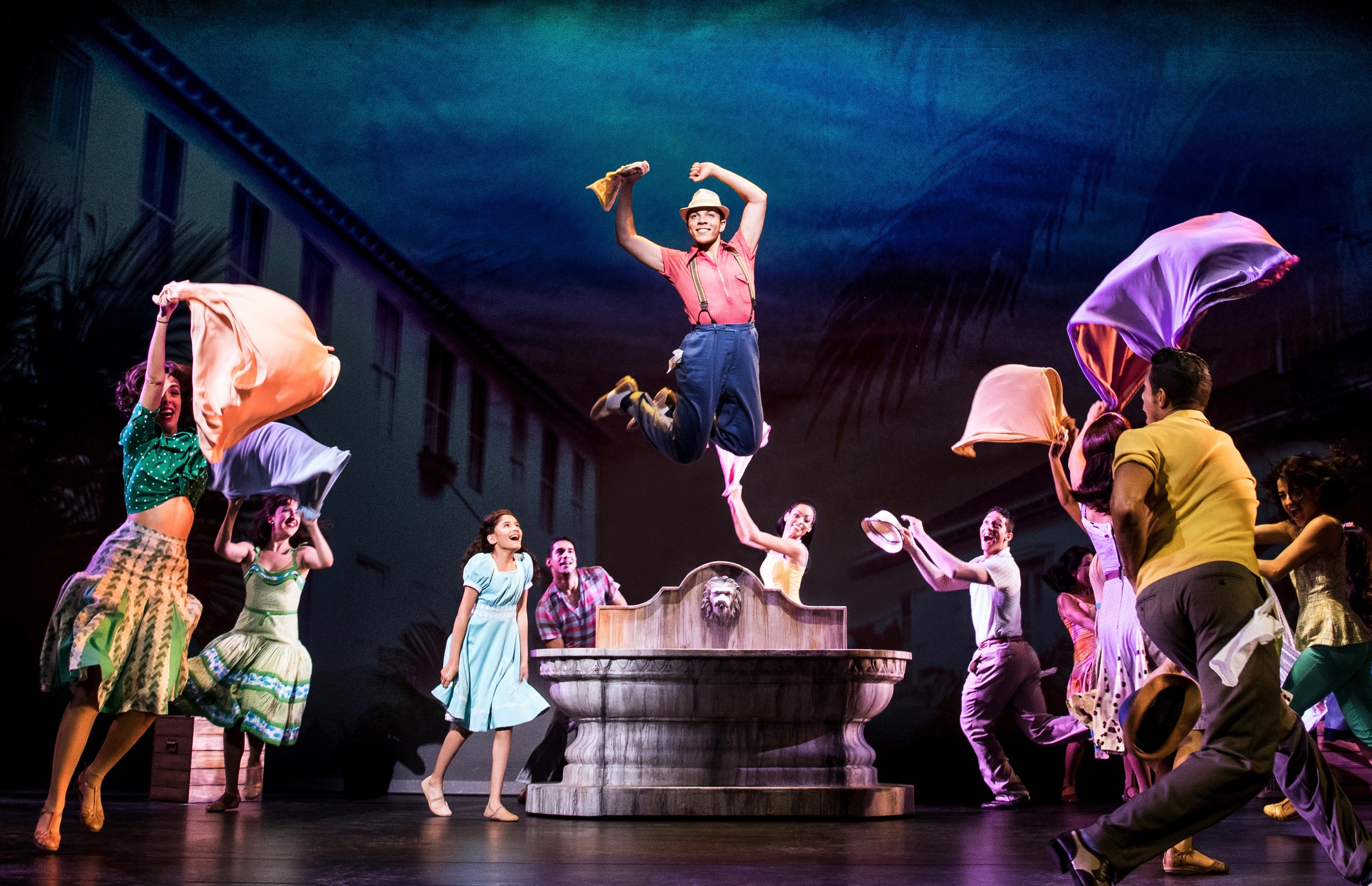 Sometimes the dancers in 'On Your Feet!' rise 'way off their feet!