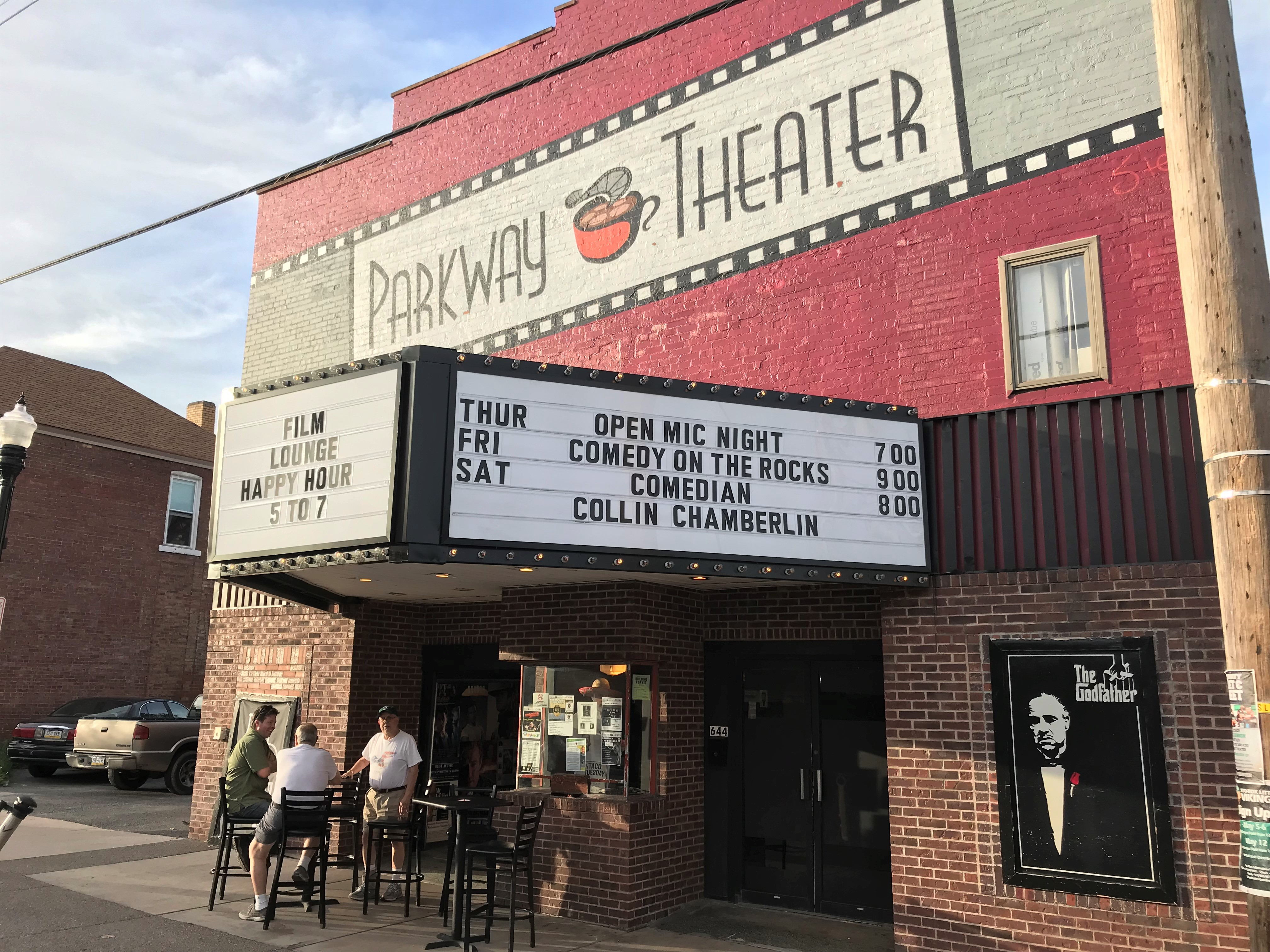 PArkway Theater Marquee Photo