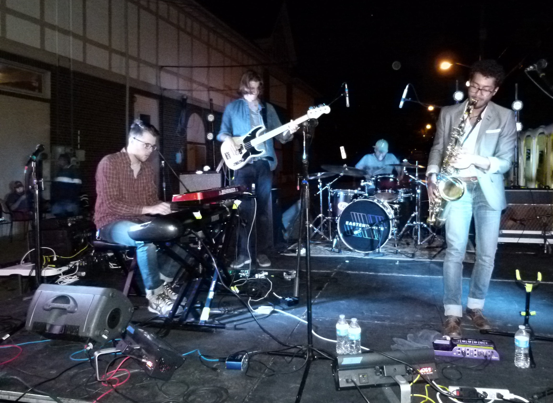 East End Mile jamming. Emerson Jay and Nevada Color were also on the night's bill.