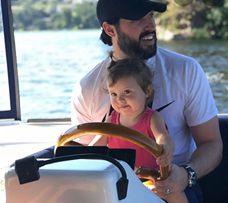 Jeremy Vuolo Instagram Boat