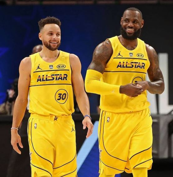 NBA Stephen Curry LeBron James Instagram