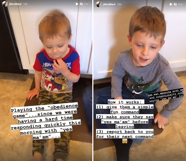 Jill Duggar Sam Israel Instagram