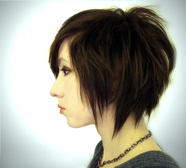Edgy Bob Hairstyle