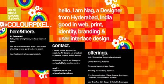 13 Colorful Website Design