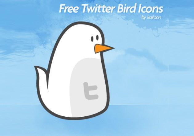 47 Twitter Icon Set