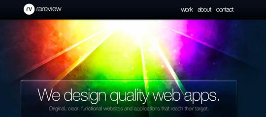 6 Colorful Webdesign