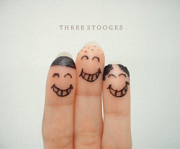 Happy Three Stoogies