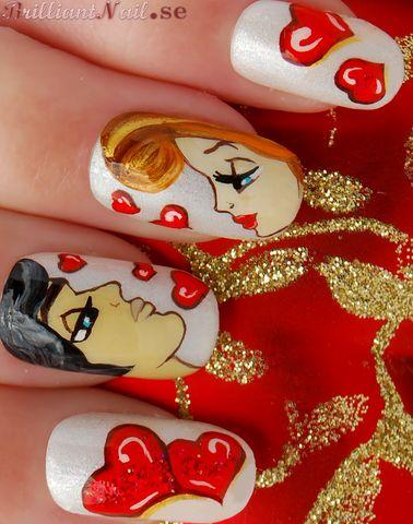 Cute Valentine S Day Nail Art