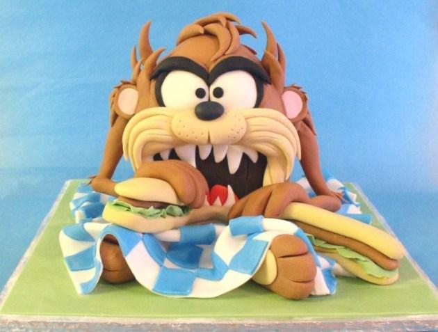 Tazmanian Devil Cake