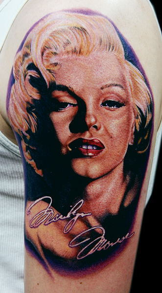 Marilyn Monroe Tattoo