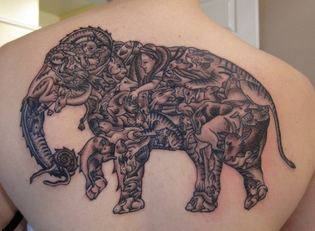Elephant Tattoo Designs