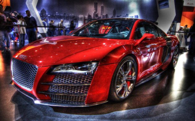 Audi R8r HDR