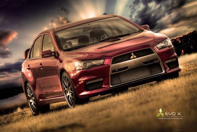 Mitsubishi Evolution X - HDR