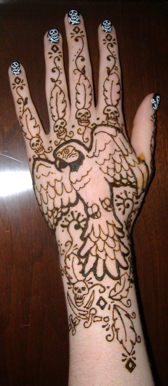 Pirate Henna
