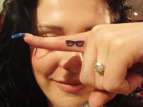 Finger Tattoo Design