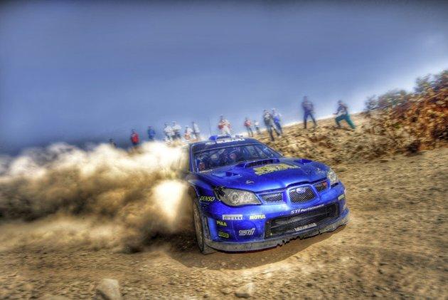 Subaru impreza WRC HDR 11