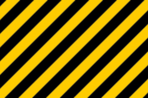 Diagonal Construction Stripes