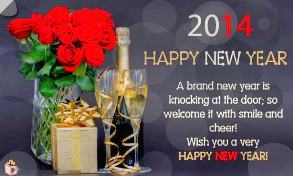 Happy New Year 2014 Greeting Cards 1