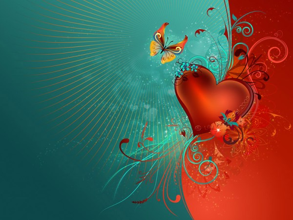 Valentine's Heart WP
