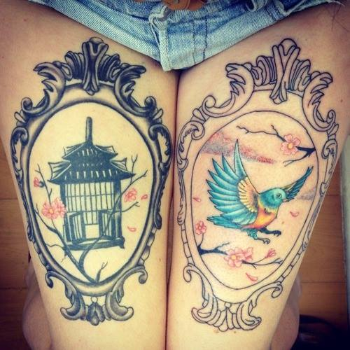 Thigh tattoos: 25 Cool And Creative Thigh Tattoo Designs