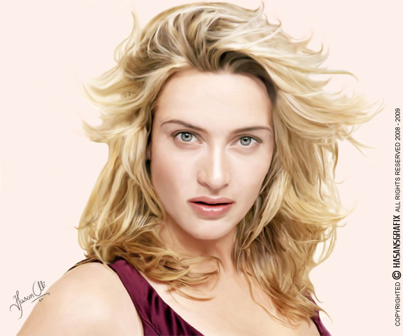Digital Painting - Kate Winslet