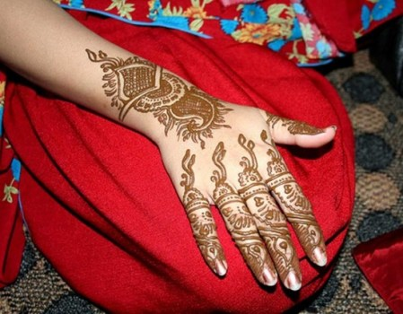 Eid Mehndi Designs Indian