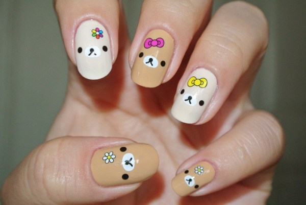 my teddy bear nails