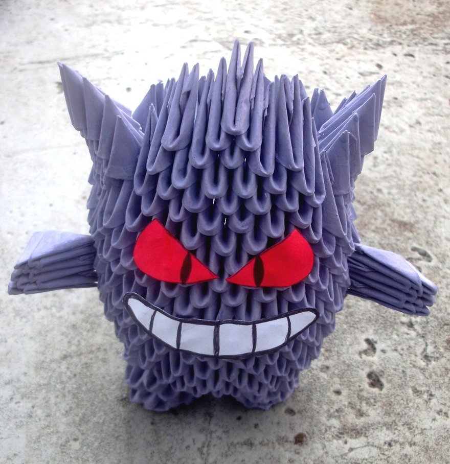 3D Origami Paper Art: 30+ Amazing Modular Character Crafts