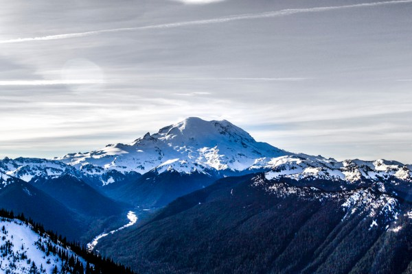 Mount Rainer View from Crystal Mountain