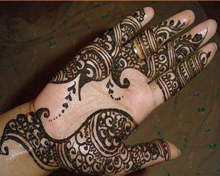 Mehndi Hands Girls : 30 beautiful arabic henna mehndi designs for girls hands