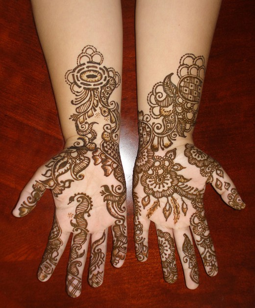 Mehndi Designs By Zara : Beautiful arabic henna mehndi designs for girls hands