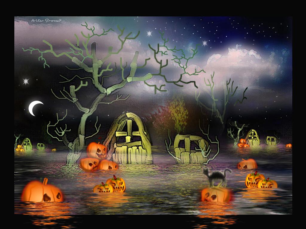 35+ Best Spooky-Scary Halloween Wallpapers For Desktop ...