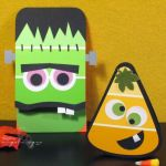 diy fun and easy Halloween craft ideas for kids