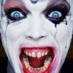 evil and scary clown pictures