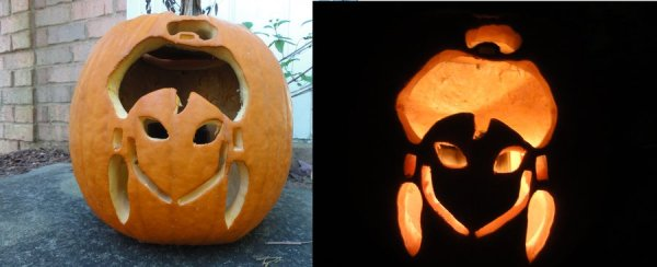 korra pumpkin for halloween