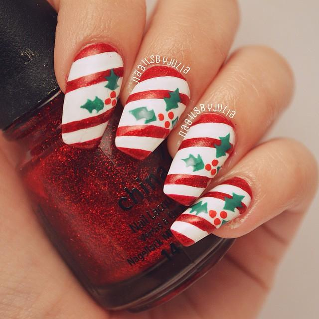 Winter Christmas Nail Designs: 30 Gorgeous Winter Nail Designs Ideas For 2015-16