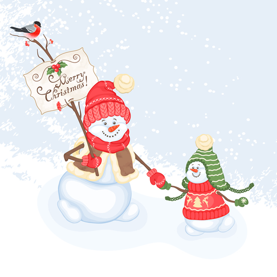 merry-crhistmas-snowman-wishes-image
