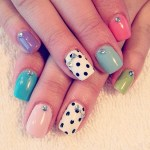 easy simple cute nail art