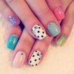 easy simple cute nail art