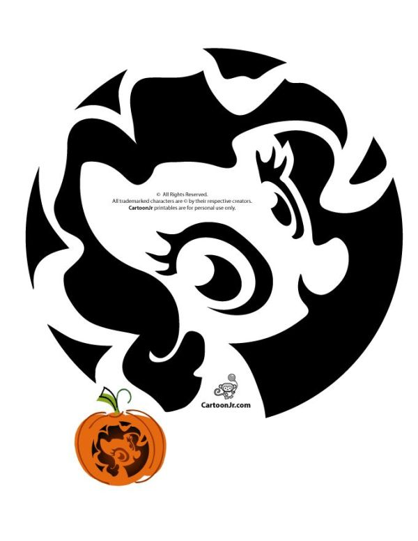 my-little-pony-pumpkin-pattern