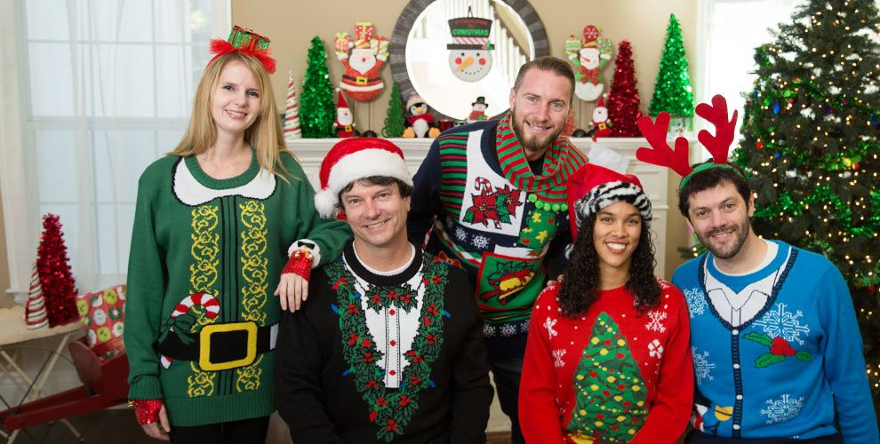 Ideas For Christmas Party Entertainment Part - 41: Christmas Sweater. Christmas Party Entertainment Ideas