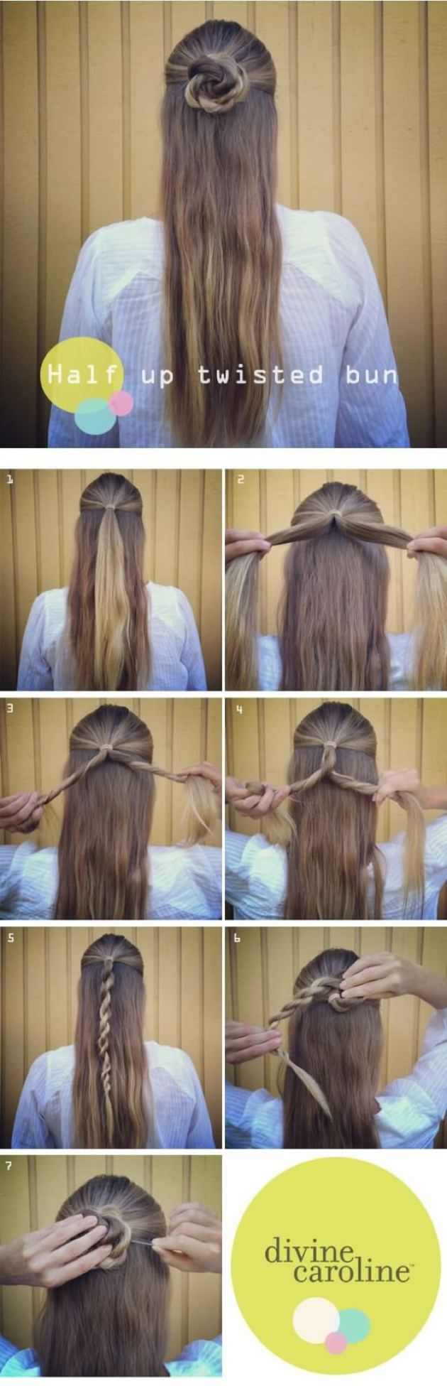 Flower Braid step by step