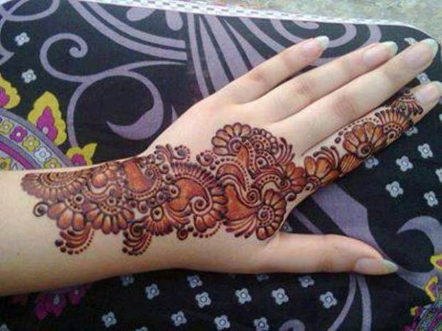 shading mehndi designs arabic