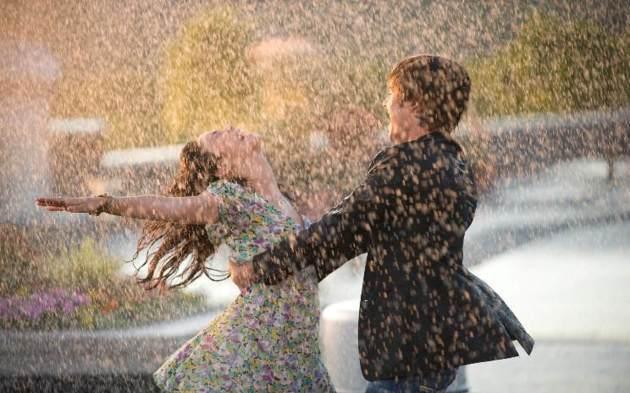 first rain in love