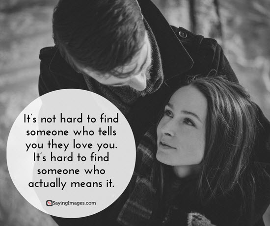 finding love quote picture