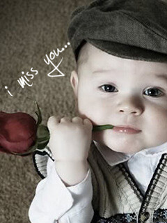 55 i miss you animated images gifs and wallpapers - Boy with rose wallpaper ...