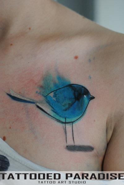 25 watercolor bird designs for