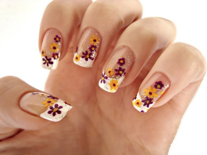 15 Spring Flower Nail Art Designs Ideas Trends