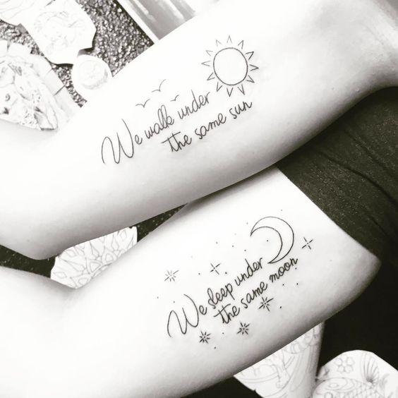 Best Friends Quote Tattoo Designs Entertainmentmesh